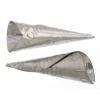 Cones Embossed 64mm Aluminum Tulip Pow Pow Pattern